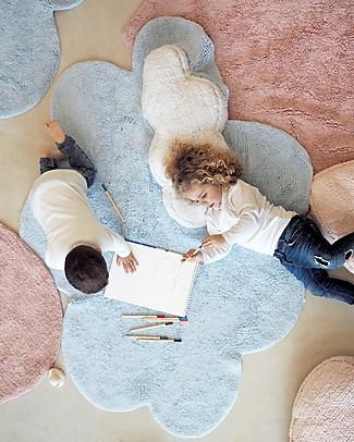 Lorena Canals Puffy Dream, Tappeto Nuvola Lavabile, Azzurro - 110 x 170 cm null