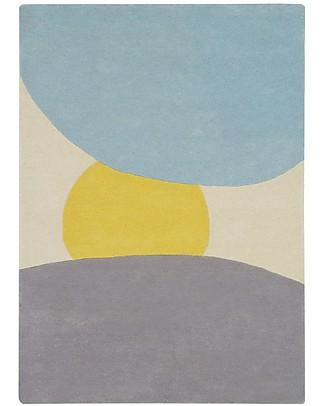 Lorena Canals Tappeto in Lana Alba - Base in 100% cotone (140 x 200 cm) Tappeti