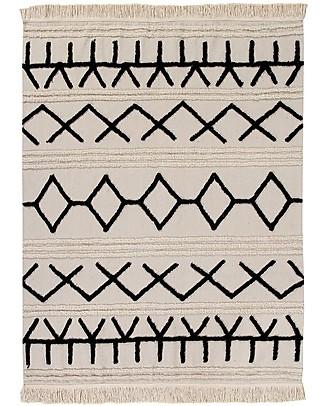 Lorena Canals Tappeto Lavabile Canvas, Bereber - 100% Cotone (140 x 200cm)  Tappeti