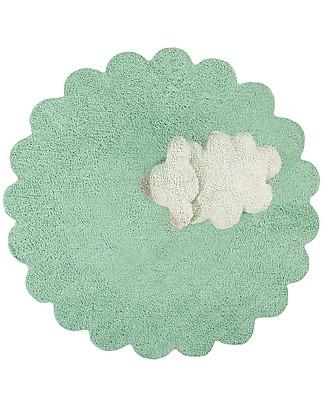 Lorena Canals Tappeto Lavabile con Cuscino Puffy Sheep, Puffy Rugs - 100% Cotone (140 cm) Tappeti