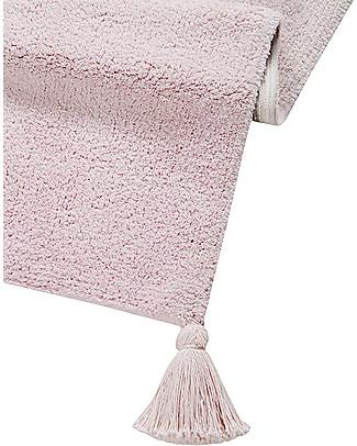 Lorena Canals Tappeto Lavabile Degrade, Vaniglia/Rosa Chiaro - 100% Cotone (120cm x 160cm)  Tappeti