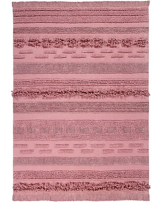 Lorena Canals Tappeto Lavabile Early Hours, Air Canyon Rose - 100% Cotone (170 x 240 cm) Tappeti