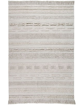 Lorena Canals Tappeto Lavabile Early Hours, Air Natural - 100% Cotone (170 x 240 cm) Tappeti