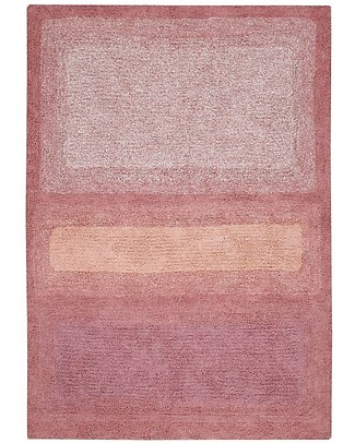 Lorena Canals Tappeto Lavabile Early Hours, Water Canyon Rose - 100% Cotone (140 x 200 cm) Tappeti