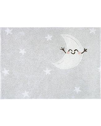 Lorena Canals Tappeto Lavabile Happy Moon - 100% cotone (120x160 cm) Tappeti