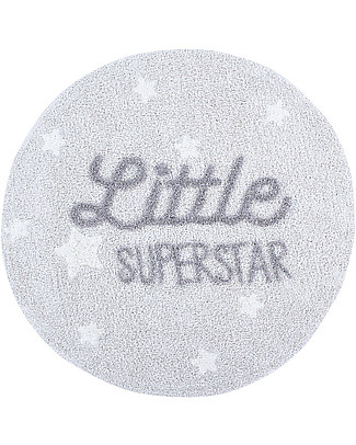Lorena Canals Tappeto Lavabile Little Superstar - 100% cotton (120 cm) Tappeti