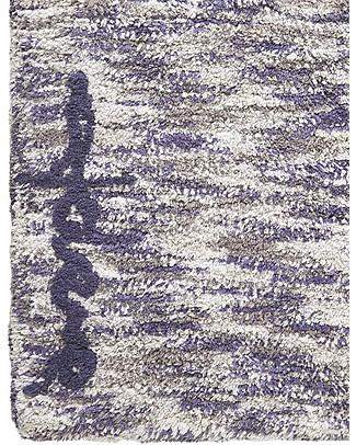 Lorena Canals Tappeto Lavabile Mix - Sfumature di Blu e Grigio - 100% Cotone (90x160cm)  Tappeti