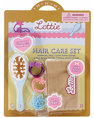 Lottie Set Accessori per Capelli, per Bambole Lottie Accessori Bambole
