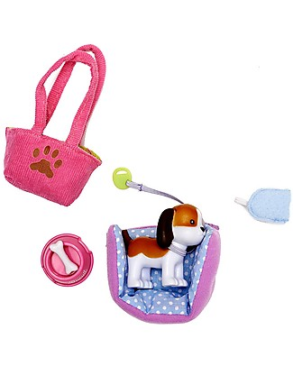 Lottie Set di Accessori il Beagle Biscotto, per la Bambola Lottie Foglie di Autunno Accessori Bambole