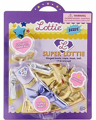 Lottie Set Maschera da Super Lottie, per le Bambole Lottie Accessori Bambole