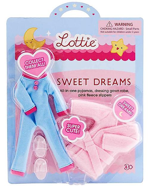 Lottie Set Vestitini da Notte Lottie Sogni d'Oro, per le Bambole Lottie Accessori Bambole