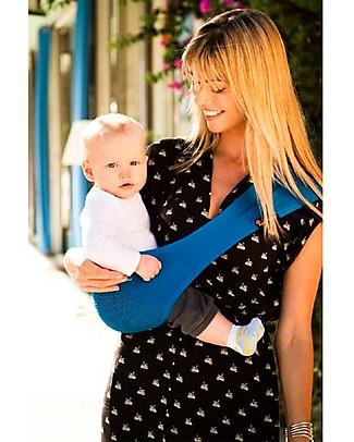 Lucky Baby Fascia Portabebé Tascabile - SUPPORi - Azzurro Fasce Portabebé