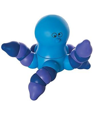 Ludus Octopus, la Piovra Blu – Gioco di costruzioni ad incastro, Made in Italy! Giochi Creativi