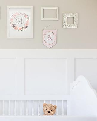 Lulujo Baby Decorazione da Parete per Cameretta - Isn't She Lovely Decorazioni