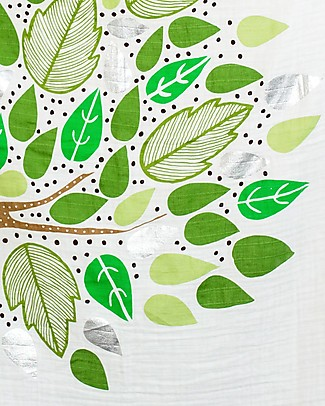 Lulujo Baby Kit Primo Anno Deluxe - Copertina + 18 Cards, Here I Grow Again - Per i bebé più social! Copertine Swaddles