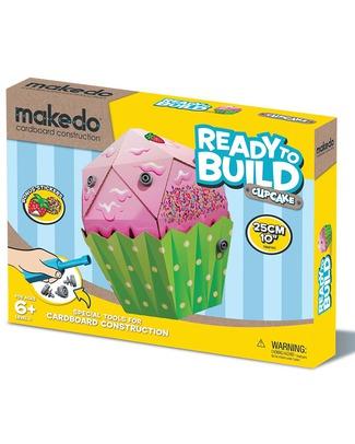 MakeDo Make Do Ready to Build - Cupcake - 100% Cartone Riciclato Kit Fai Da Te