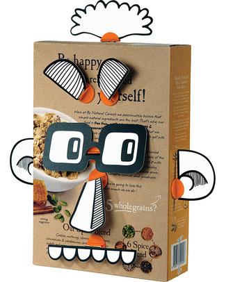 MakeDo Set Facce Buffe - People Faces (Strumenti riutilizzabili ad alto potenziale creativo!) Kit Fai Da Te