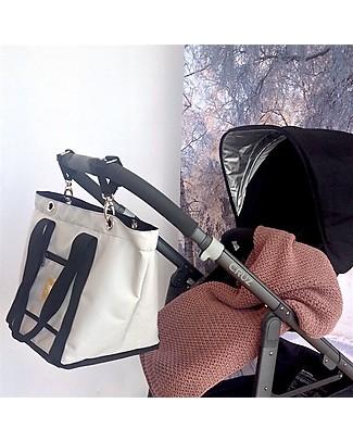 MAMI Coppia di Ganci per Borsa Cambio Mami – Adatti a qualunque passeggino! Borse Cambio e Accessori