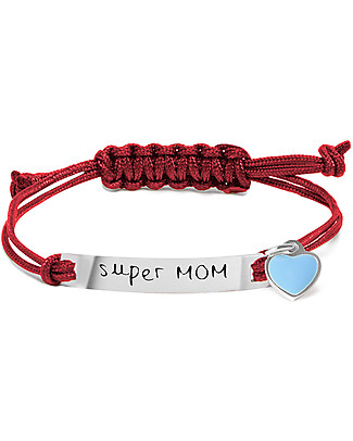 MAMIJUX Bracciale M'AMI Tag, Super MOM – E tu che tipo di mamma sei? Bracciali