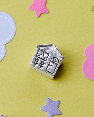 MAMIJUX Charm Casetta - per Bracciali Pandora e Trollbeads Bracciali
