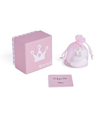 MAMIJUX Kit Bomboniera con Ciondolo, Rosa - Perfetto per il battesimo Regalini