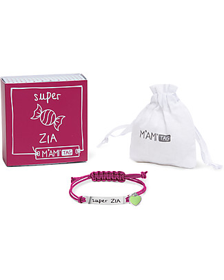 MAMIJUX M'AMI Tag Bracelet, Super Zia - The sweetest gift for aunts! Bracelets