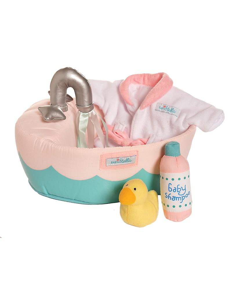 M.Y Baby 8 pezzi Bambole Set Accessori per il bagno e