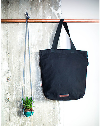 Mara Mea 4 in 1 Diaper Bag Global Traveler, Black – Water repellent Cotton Canvas (multi-functional & multipocket) Diaper Changing Bags & Accessories