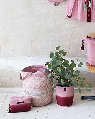 Mara Mea Beautycase Rosehip, Sfumatura Borgogna - Cotone Trousse & Pochette