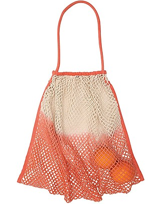 Mara Mea Borsa in Rete per Passeggino Fruit Crush, Pesca Dip Dye - 100% cotone Accessori