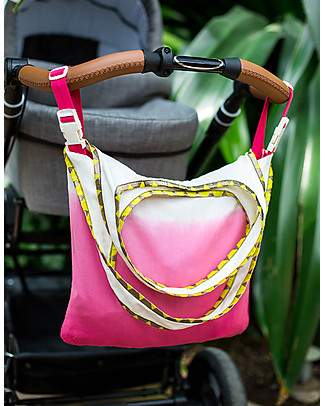 Mara Mea Borsa per Passeggino 2 in 1, Flamingo Party - Pratica e bellissima! Accessori