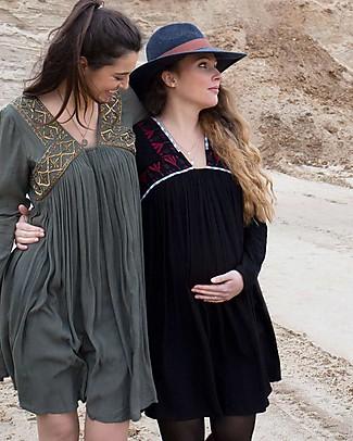 Mara Mea Electric Sky, Abito Maternità, Nero - Perfetto anche dopo la gravidanza! null