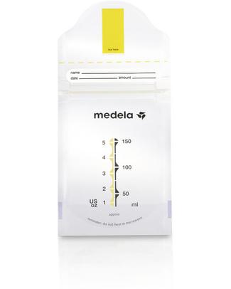 Medela Sacchetti per Latte Materno Pump & Save - Pacco da 20 Buste Conservalatte