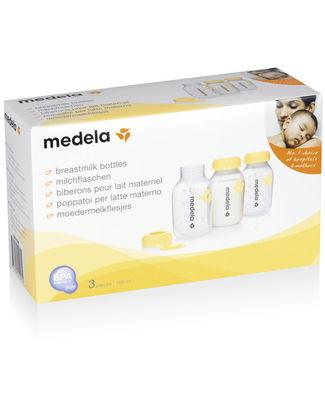 Medela Set Bottiglie per Latte Materno da 150 ml - 3 Pezzi  Bottiglie Conservalatte