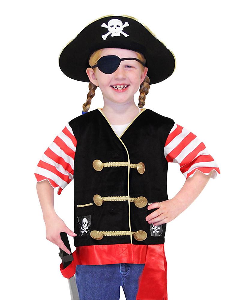 Conosciuto Melissa & Doug Costume da Pirata – Perfetto per Carnevale e feste  OE98