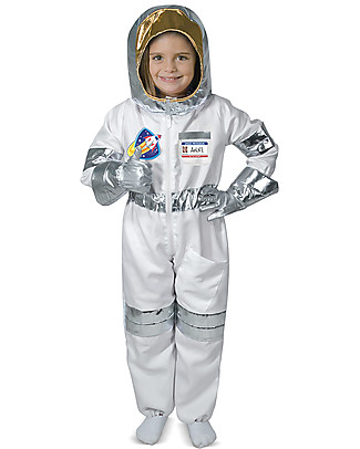 Melissa & Doug Costume da astronauta - Con guanti spaziali ed elmetto! null
