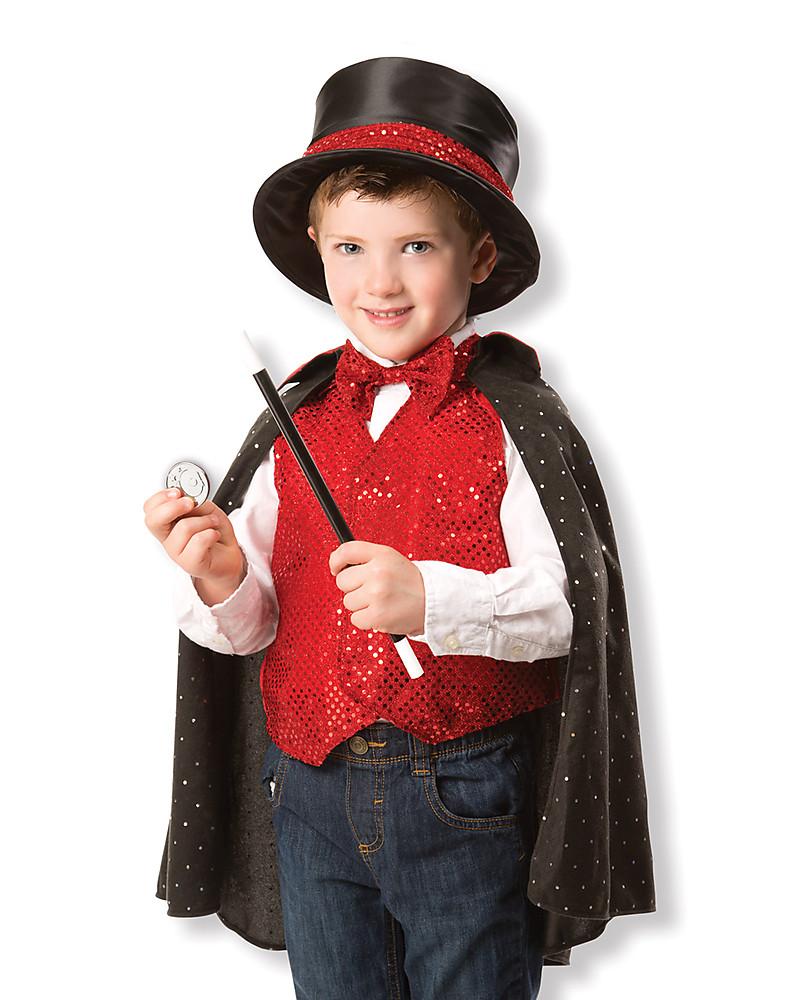 Melissa   Doug Costume da Mago – Perfetto per Carnevale e feste in maschera!  Giochi 28fbf92ffd6