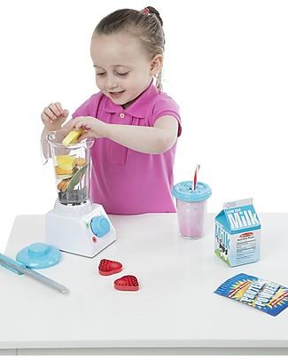 Melissa & Doug Set Frullatore con Accessori - Ottima idea regalo! Cucine Giocattolo e Cibo Finto