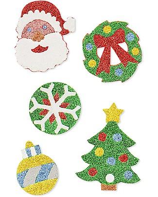 Melissa & Doug Adesivi in Rilievo - Natale - 26 Adesivi! Decorazioni Natalizie