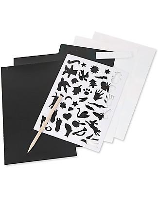 Melissa & Doug Album Artistico da Grattare – Combo pack da 4 pezzi! Giochi Creativi