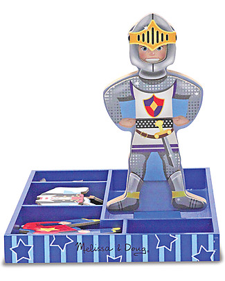 Melissa & Doug Billy - Personaggio in Legno con Vestiti Magnetizzati Giochi Creativi