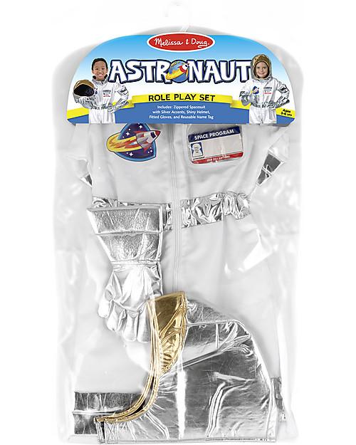 Melissa & Doug Costume da astronauta - Con guanti spaziali ed elmetto! Giochi Creativi