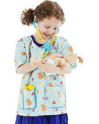 Melissa & Doug Costume Infermiere/a Pediatrico/a Travestimenti