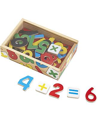 Melissa & Doug Numeri Magnetici in Legno - Per imparare a contare! Construzioni In Legno