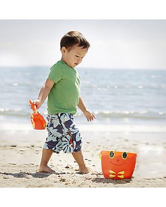 Melissa & Doug Paletta e Secchiello Granchio, Arancione Giochi Da Spiaggia