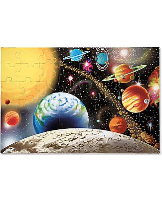 Melissa & Doug Puzzle da Pavimento Sistema Solare - 48 Pezzi - Perfetta idea regalo! Puzzle