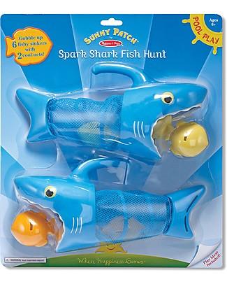 Melissa & Doug Shark Fish Hunt, lo Squalo Mangia Pesci - Gioco d'Acqua Giochi Creativi