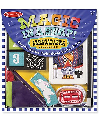 Melissa & Doug Trucchi di Magia, Abracadabra - 10 pezzi! Giochi Creativi