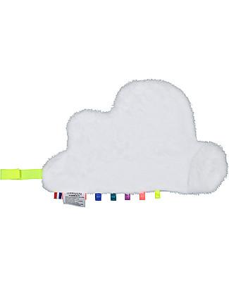 Mellipou DouDou Sonoro, Portaciuccio, Nuvola Grafo - Fatto in Francia Doudou