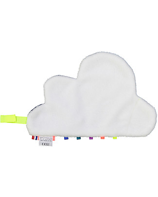 Mellipou DouDou Sonoro, Portaciuccio, Nuvola Milky - Fatto in Francia Doudou